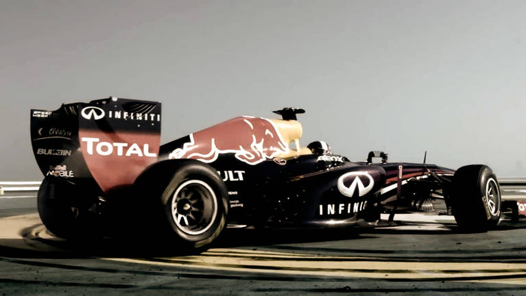 RED BULL F1 Seven Star Spin